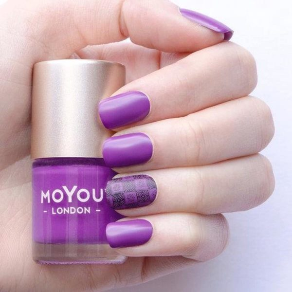 MoYou London Stempel Nagellak - Stamping Nail Polish 9ml. - Violet Haze