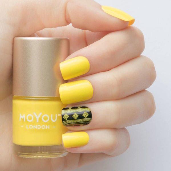 MoYou London - Stempel Nagellak - Stamping - Nail Polish - Bananarama - Geel