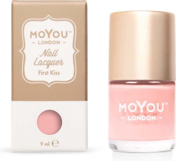 MoYou London - Stempel Nagellak - Stamping - Nail Polish - First Kiss - Roze
