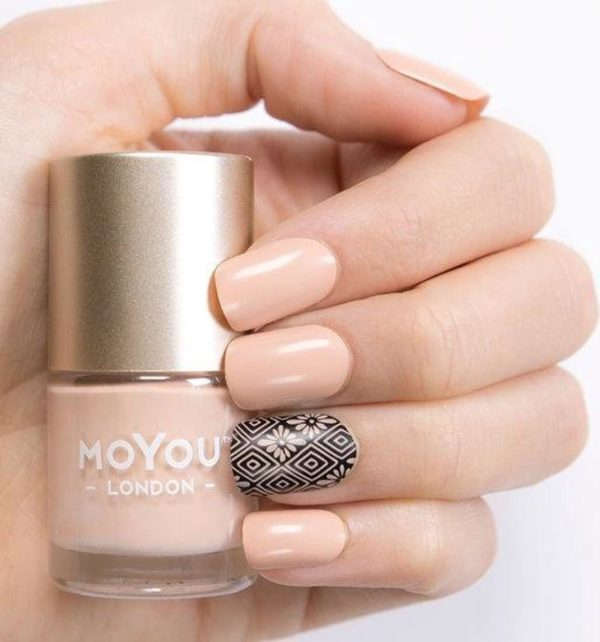 MoYou London - Stempel Nagellak - Stamping - Nail Polish - In the Nude - Nude - Roze