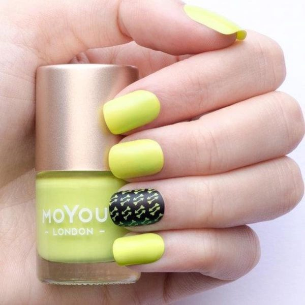 MoYou London - Stempel Nagellak - Stamping - Nail Polish - Key Lime - Groen - Geel