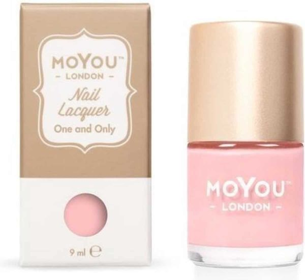 MoYou London - Stempel Nagellak - Stamping - Nail Polish - One and Only - Roze