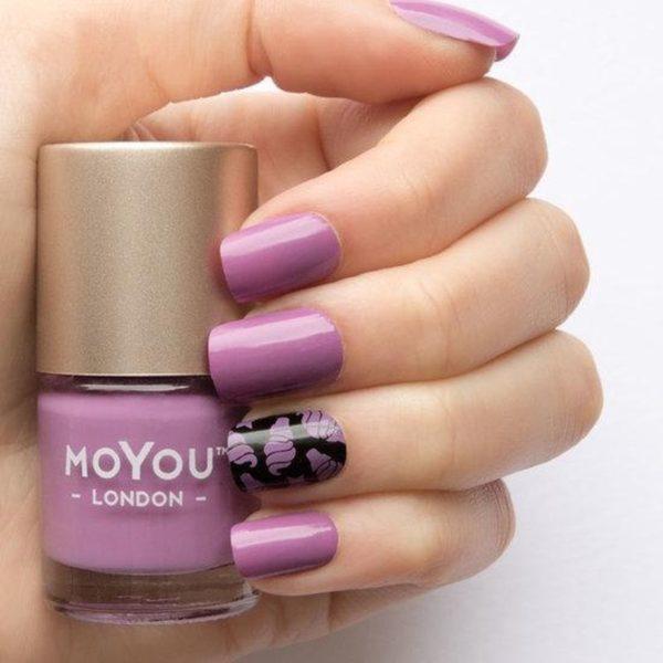 MoYou London - Stempel Nagellak - Stamping - Nail Polish - Orchid Chic - Paars