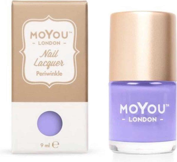 MoYou London - Stempel Nagellak - Stamping - Nail Polish - Periwinkle - Paars