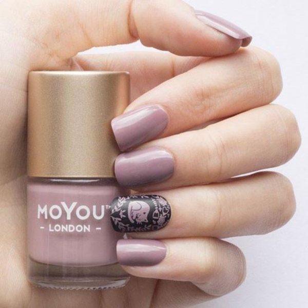 MoYou London - Stempel Nagellak - Stamping - Nail Polish - Pink Clay - Roze