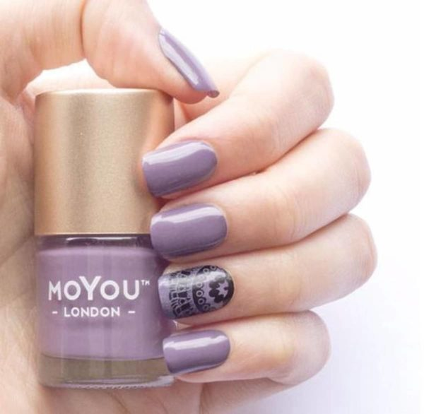 MoYou London - Stempel Nagellak - Stamping - Nail Polish - Purple Mouse - Paars