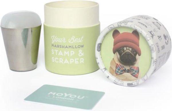MoYou London Stempel - Single Marshmallow Stamper - Sticky (Translucent)