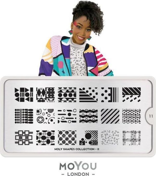 MoYou London - Stempelplaat - Nail Art - Stamping - Holy Shapes 11