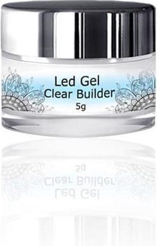 Modena Nails Clear Builder Gel 5g.