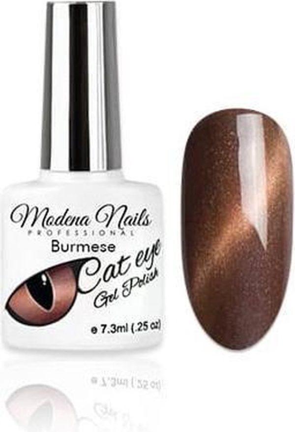 Modena Nails Gellak Cat Eye - Burmese 7,3ml.