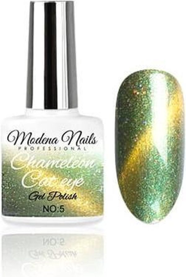 Modena Nails Gellak Cat Eye Chameleon - 05 - 7,3ml.
