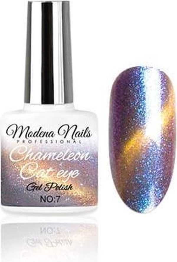 Modena Nails Gellak Cat Eye Chameleon - 07 - 7,3ml.