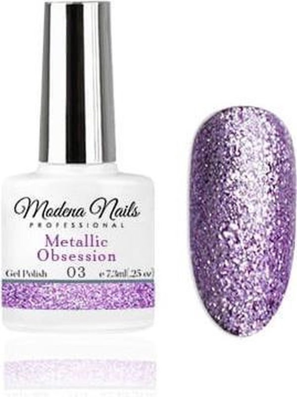 Modena Nails Gellak Metallic Obsession - 03 - 7,3ml.