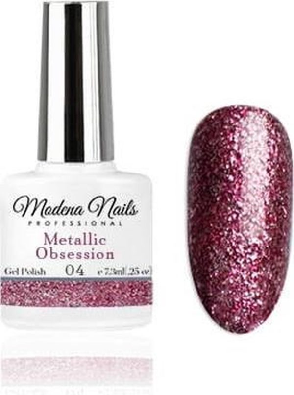 Modena Nails Gellak Metallic Obsession - 04 - 7,3ml.