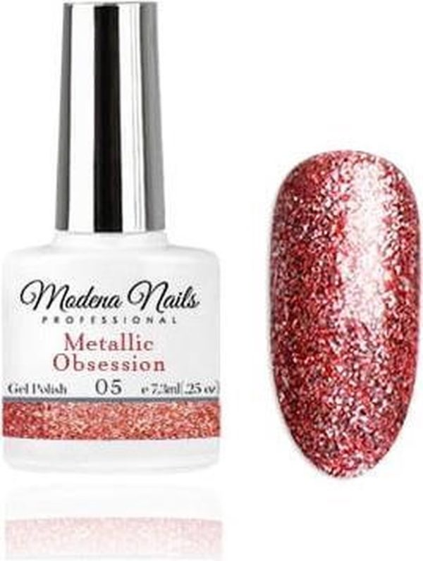 Modena Nails Gellak Metallic Obsession - 05 - 7,3ml.