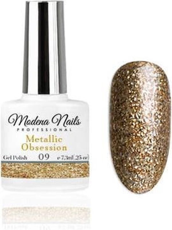Modena Nails Gellak Metallic Obsession - 09 - 7,3ml.