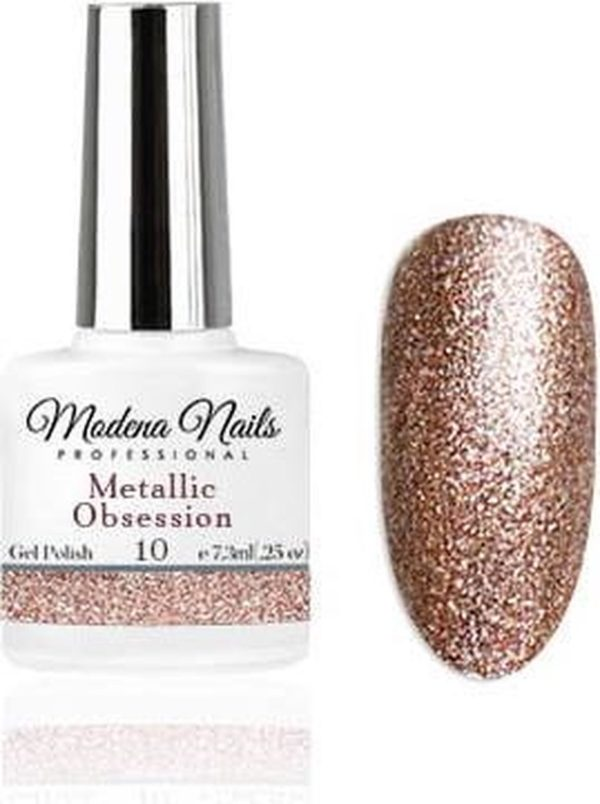 Modena Nails Gellak Metallic Obsession - 10 - 7,3ml.