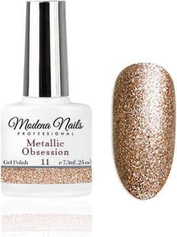 Modena Nails Gellak Metallic Obsession - 11 - 7,3ml.