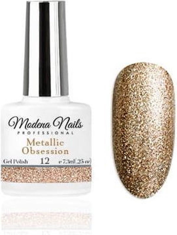 Modena Nails Gellak Metallic Obsession - 12 - 7,3ml.