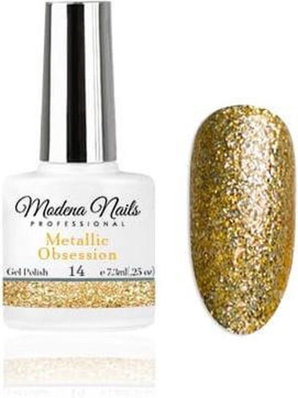 Modena Nails Gellak Metallic Obsession - 14 - 7,3ml.