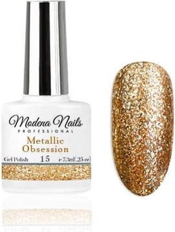 Modena Nails Gellak Metallic Obsession - 15 - 7,3ml.