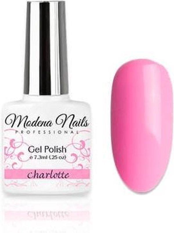 Modena Nails Gellak Pastel Paradise - Charlotte 7,3ml.