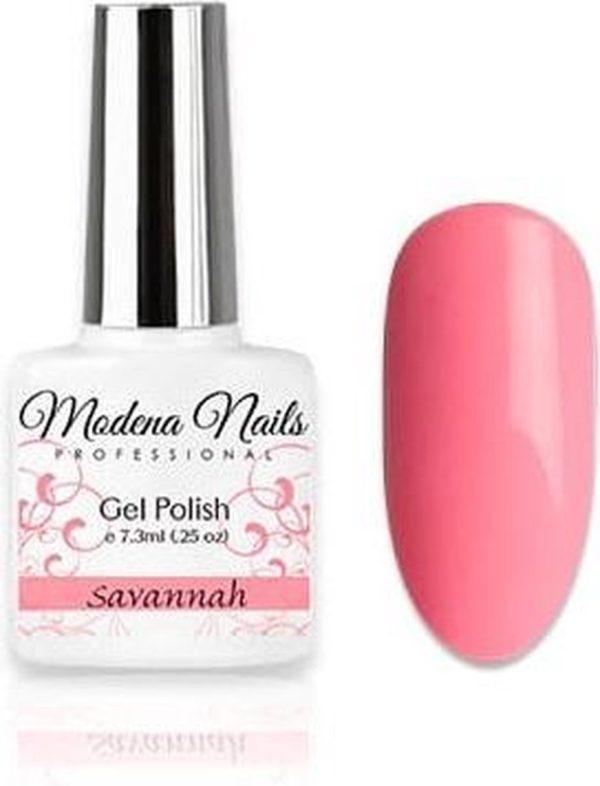 Modena Nails Gellak Pastel Paradise - Savannah 7,3ml.