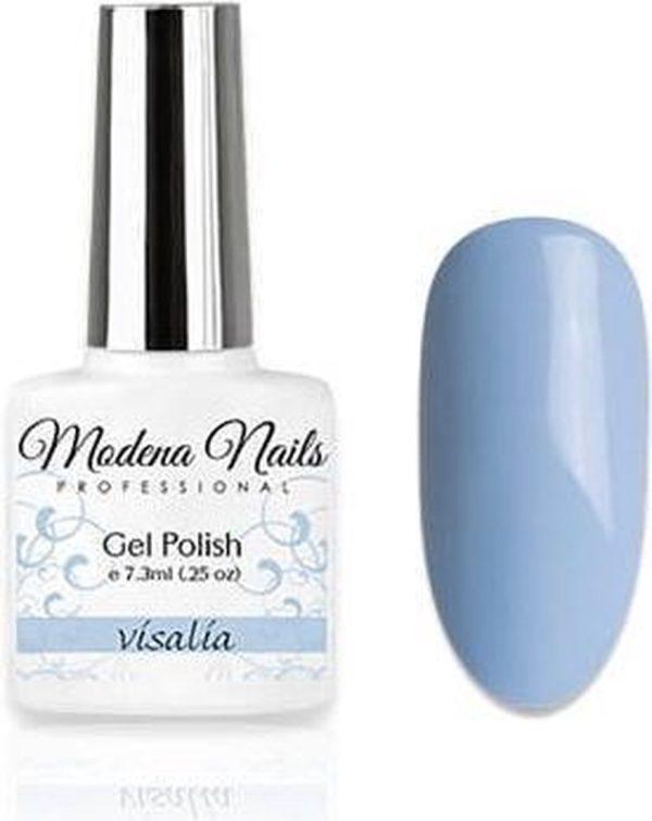 Modena Nails Gellak Pastel Paradise - Visalia 7,3ml.