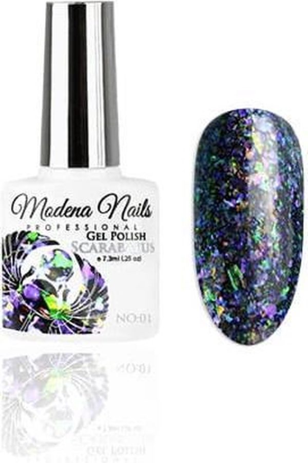 Modena Nails Gellak Scarabaeus 01 7,3ml.
