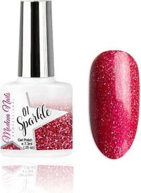 Modena Nails Gellak Sparkle - 01 7,3ml.