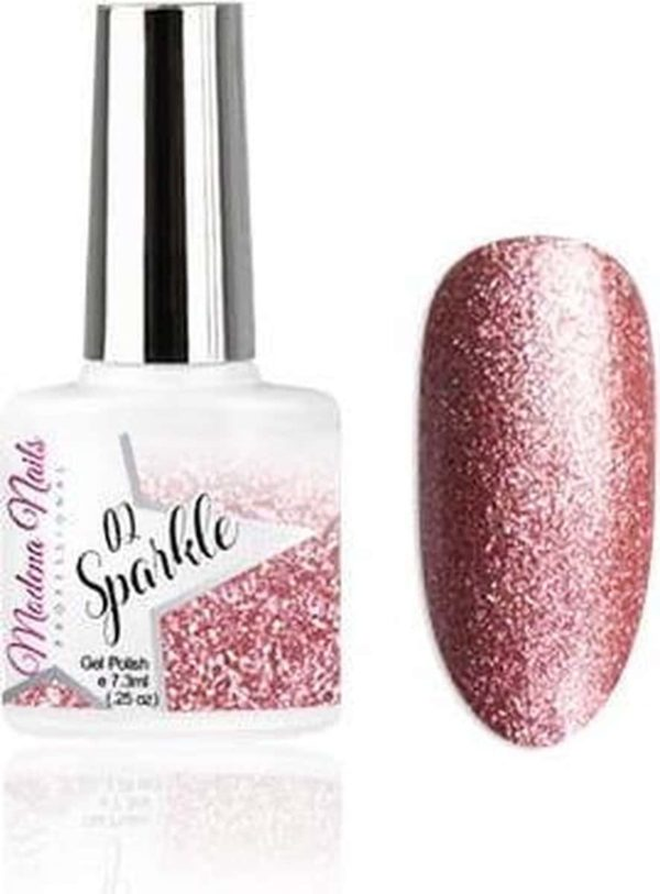 Modena Nails Gellak Sparkle - 02 7,3ml.