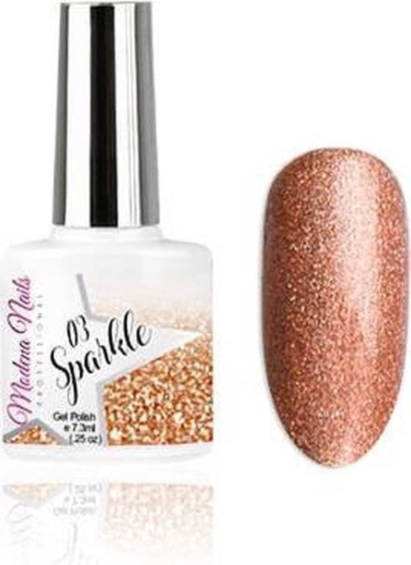 Modena Nails Gellak Sparkle - 03 7,3ml.