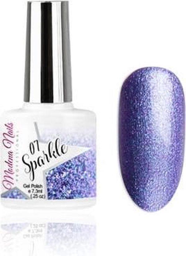 Modena Nails Gellak Sparkle - 07 7,3ml.
