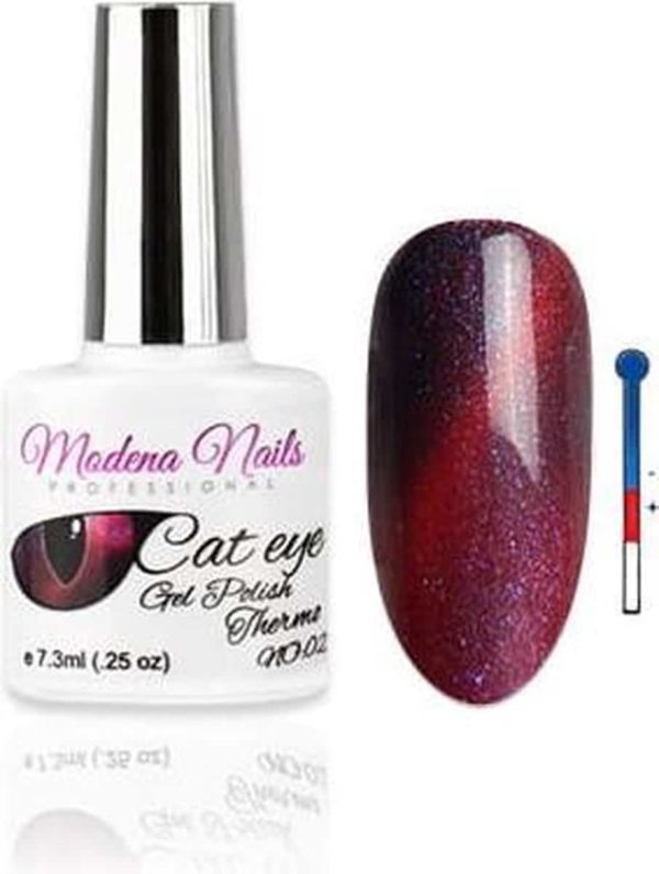 Modena Nails UV/LED Gellak Cat Eye Thermo - 002