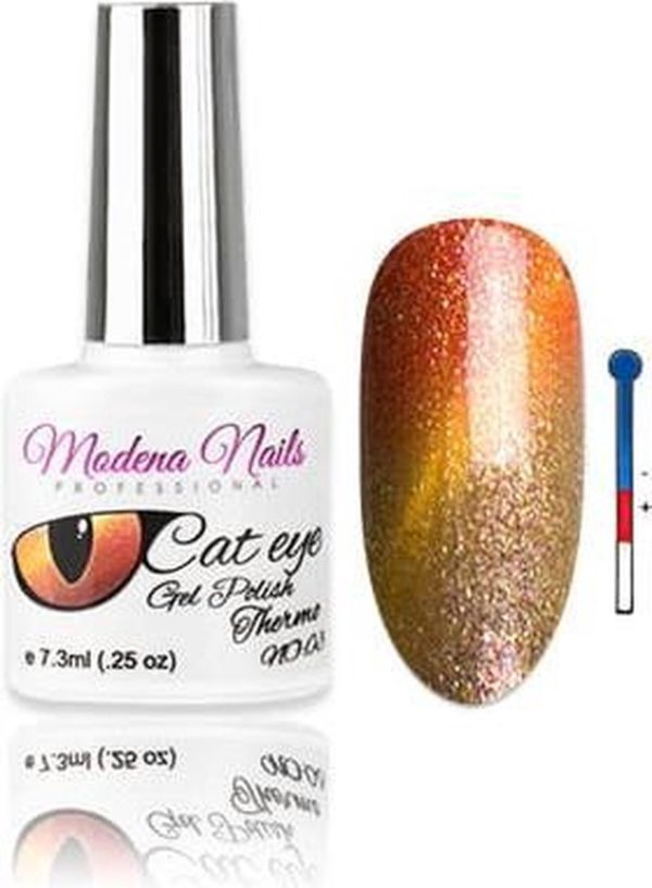 Modena Nails UV/LED Gellak Cat Eye Thermo - 003