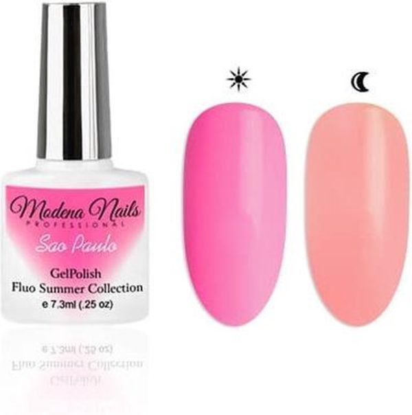 Modena Nails UV/LED Gellak Fluo Summer - Sao Paulo