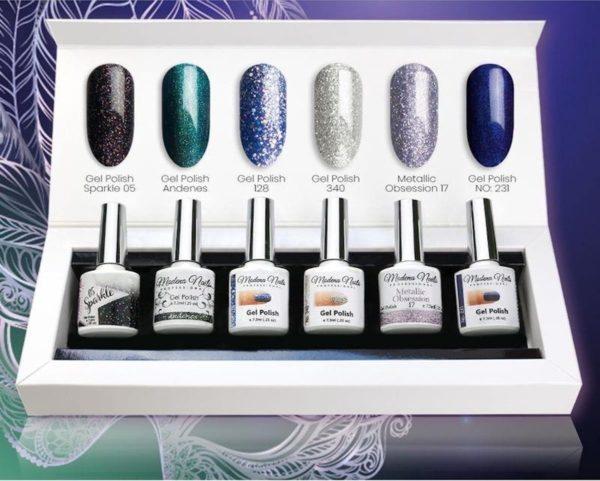 Modena Nails UV/LED Gellak Set 6 Kleuren - Carnival 19