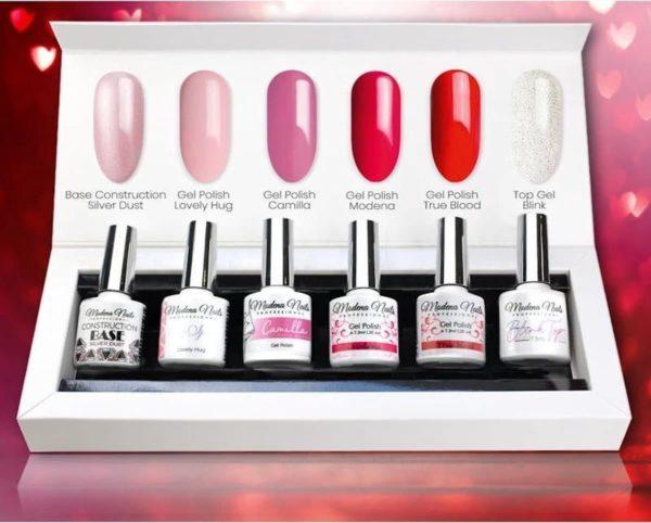 Modena Nails UV/LED Gellak Set 6 Kleuren - We Love 20