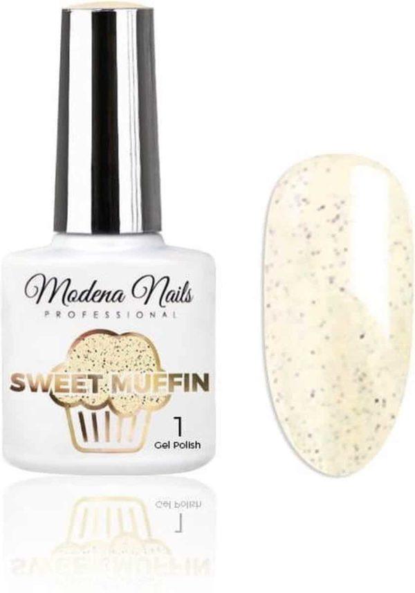 Modena Nails UV/LED Gellak - Sweet Muffin #01