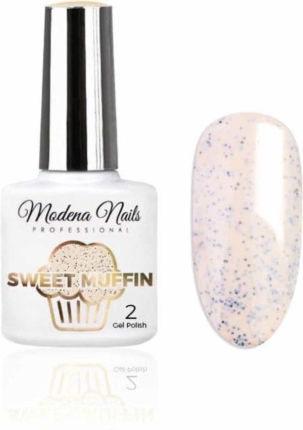 Modena Nails UV/LED Gellak - Sweet Muffin #02