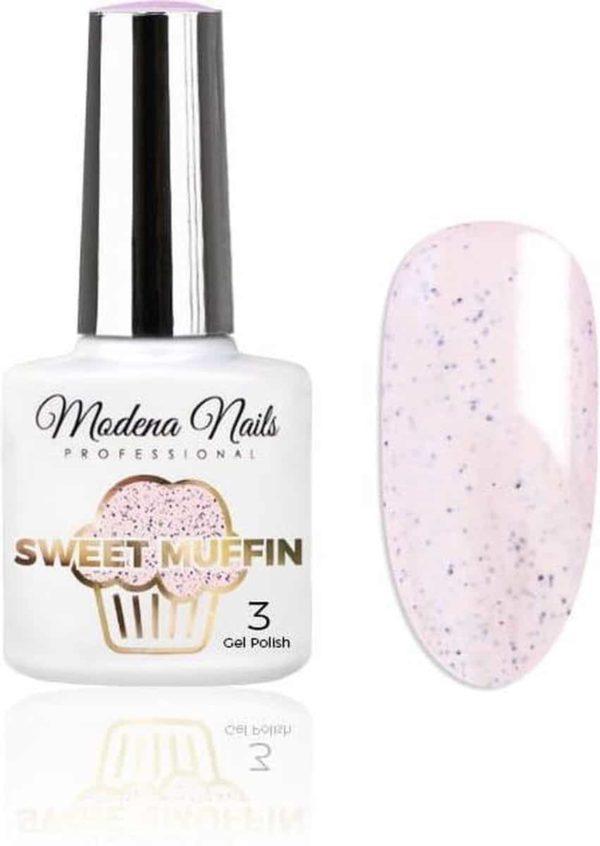 Modena Nails UV/LED Gellak - Sweet Muffin #03