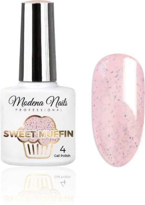 Modena Nails UV/LED Gellak - Sweet Muffin #04