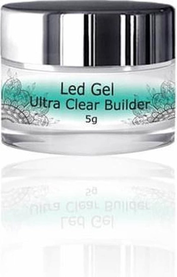 Modena Nails Ultra Clear Builder Gel 5g.