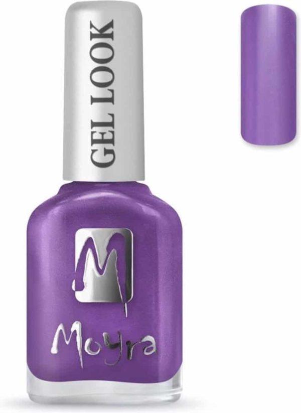 Moyra Gel Look nail polish 1008 Camelia