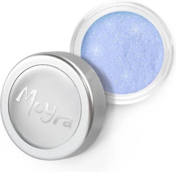 Moyra Glitter powder nr 02 - Licht Blauw