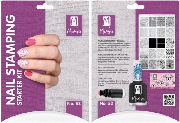 Moyra Nail Stamping Starter Kit Nr. 53 - Textures