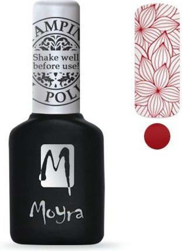 Moyra Stamping Gel Polish 10ml SGP06 RED