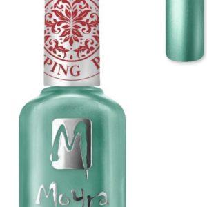 Moyra Stamping Nail Polish 12ml SP27 CHROME GREEN