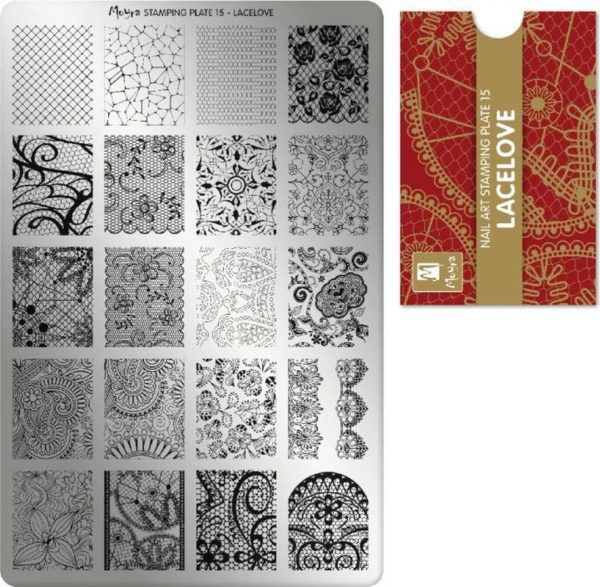 Moyra Stamping Plate 15 LaceLove
