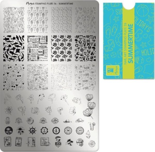 Moyra Stamping Plate 26 Summertime
